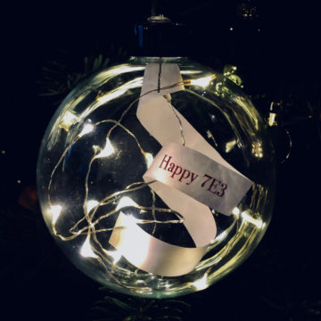 Bauble with wish